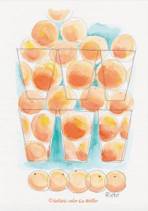 今日のテーマカラー:オレンジ「仲間と」