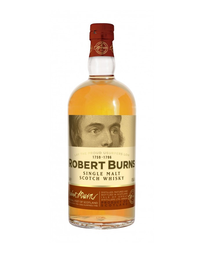 whisky Robert Bruns Single Malt 70cl 43°