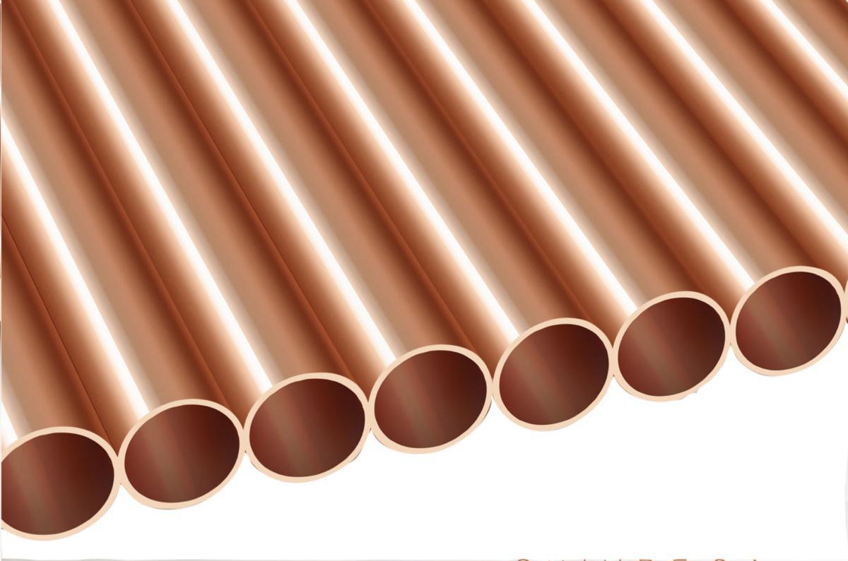 tube cuivre ecroui demi dur diametre 16mm epaisseur 1mm barre de 3m ref tuseecr030016