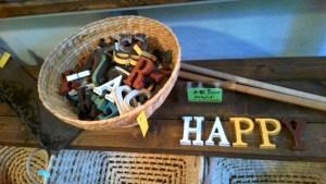 木製アルファベット