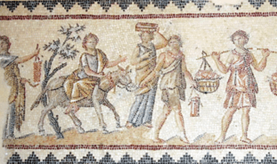 Mosaique_Dyonisos Sepphoris_Galilee_IVeme siecle