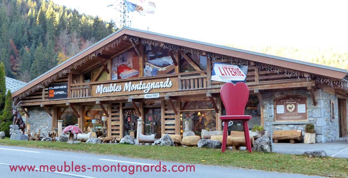 meubles montagnards style savoyard