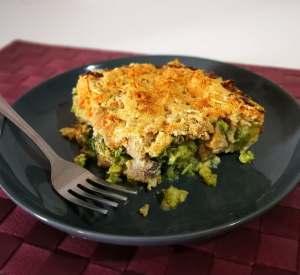 gratin poulet brocolis
