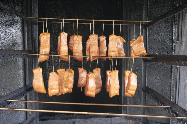 Fumoir à viande