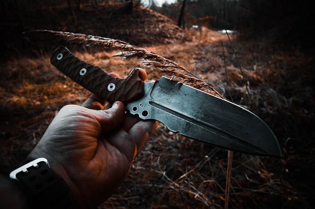 Knife Bushcraft Camp Outdoor