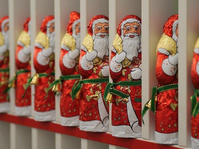 Père Noel chocolat
