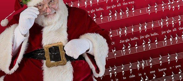 Santa Christmas Claus Jingle Bells  - geralt / Pixabay