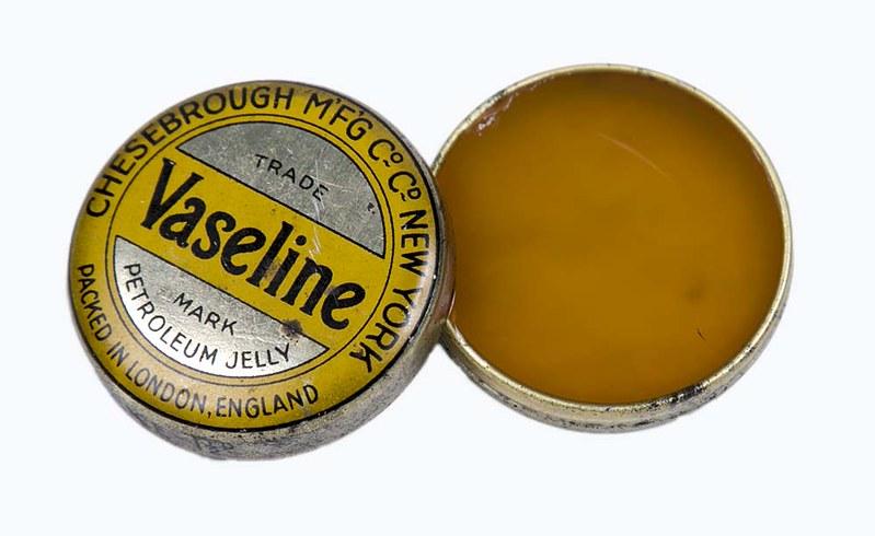 Vieille boite de Vaseline