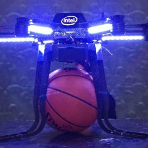 Intel NBA Drone Dunk