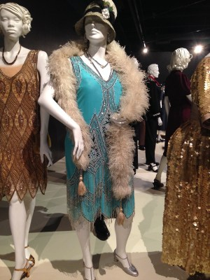 Viewing Costumes from TV at the FIDM Museum