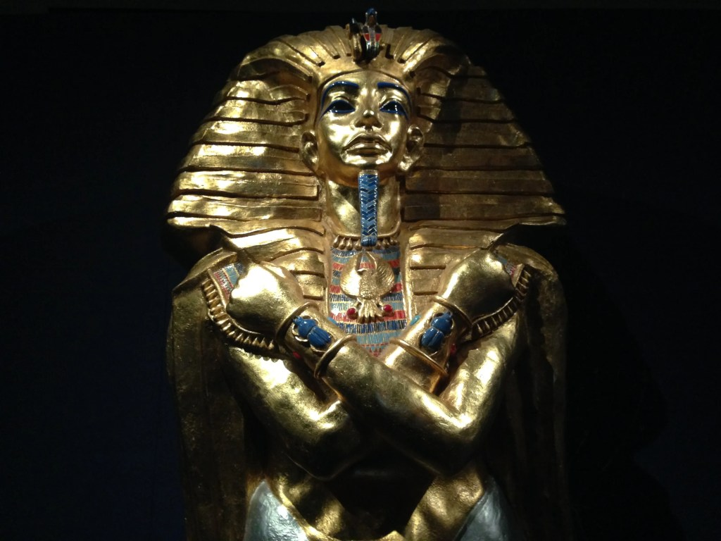 Visiting King Tut at Muzeo