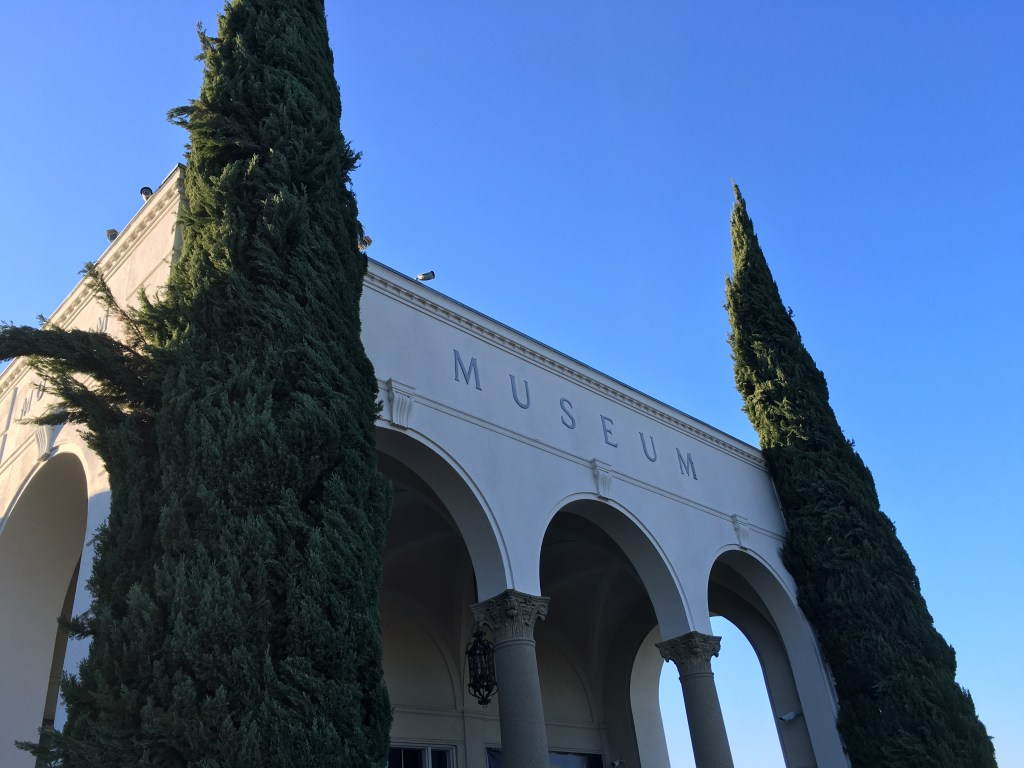 Visiting the Forest Lawn Museum