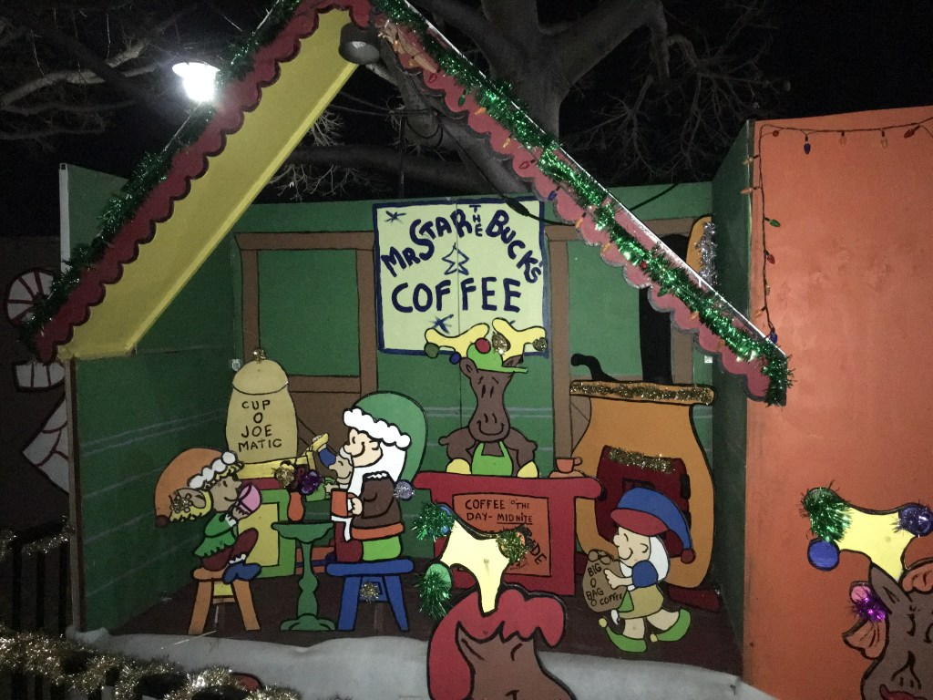 A Christmas Visit to Snoopy and the Peanuts Gang