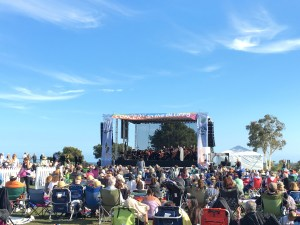 Attending the Malibu Concert on the Bluffs