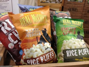Spotlight on Real McCoy's All Natural Snacks