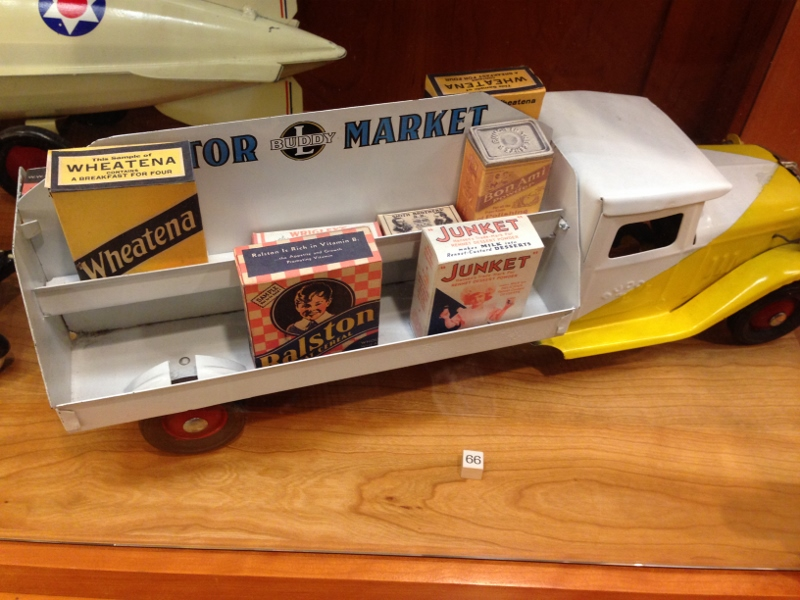Viewing the Ralph L. Tomlinson Antique Toy Collection
