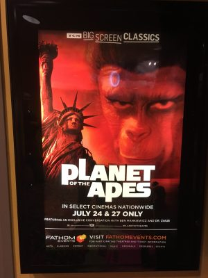 Watching Planet of the Apes on the Big Screen