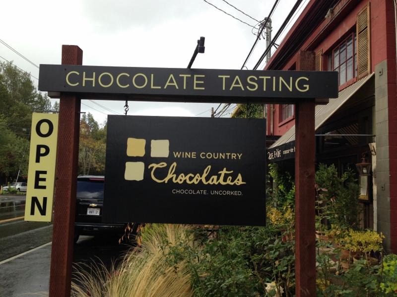 wine country chocolates
