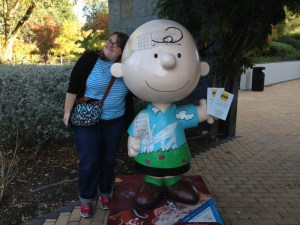 Visiting Snoopy and Sift Dessert Bar