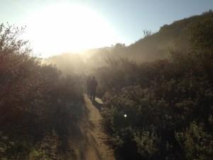 Hiking Blackstar Canyon with Rise Bar