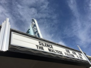 Viewing The Maltese Falcon at The Art Theatre