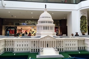 Catching the LEGO Americana Roadshow at Glendale Galleria