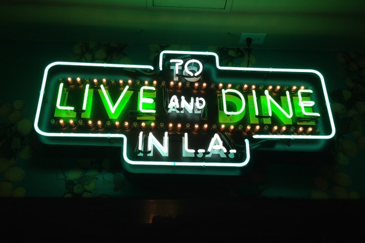 To Live and Dine in LA at the Central Library
