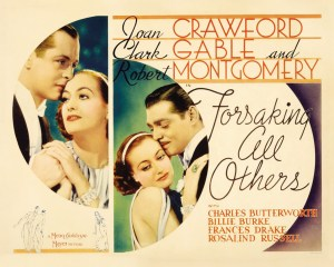 Spotlight on Joan Crawford in Forsaking All Others