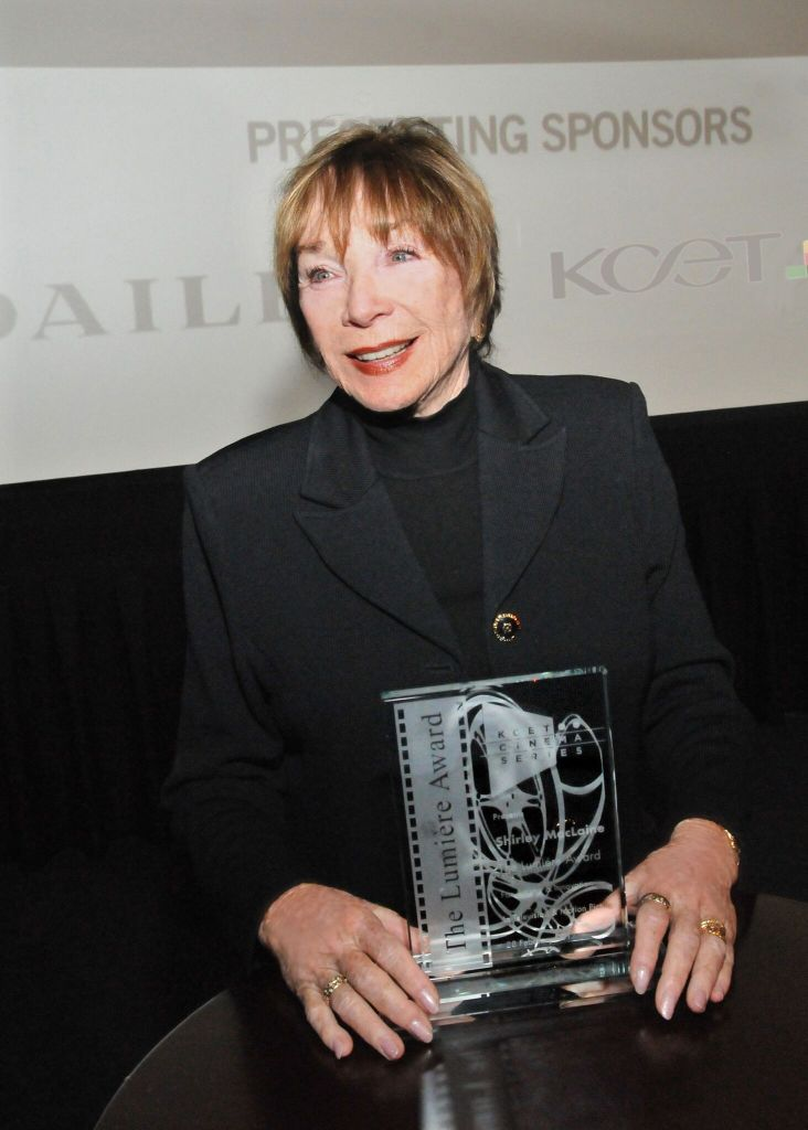 KCET Honors Shirley MacLaine with the Lumiere Award