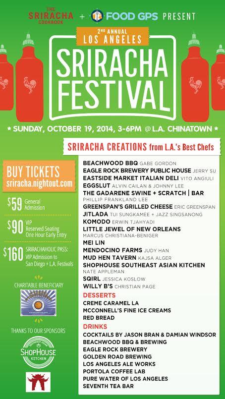LA Sriracha Festival