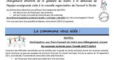 thumbnail of FLASH N° 37 GarderieInfoHoraireMatin ParticipationsTsportCLSH PLUi Fibre optique CampagneDartagnans