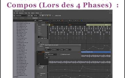 production musicale export morceau