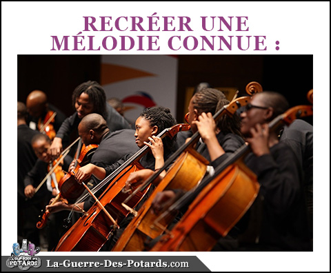production musicale melodie