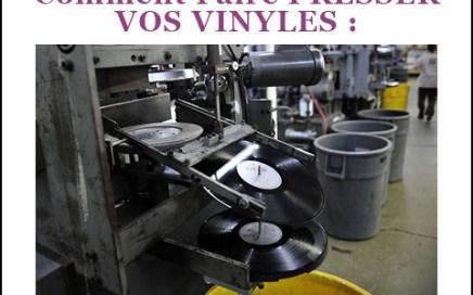 production musicale pressage vinyle