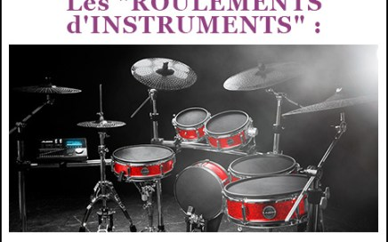 production musicale roulement instrument