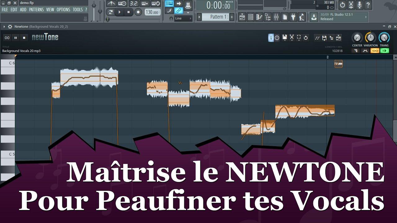 Maîtrise le NEWTONE de FL Studio Pour PEAUFINER TES VOCALS :