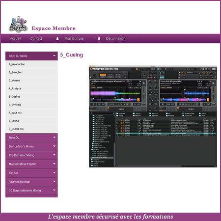 formation dj mix pro