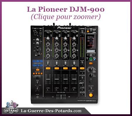 table mix pioneer DJM 900