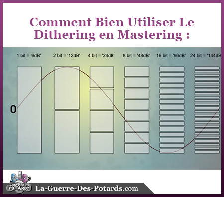 dithering mastering