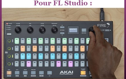 production musicale akai fire fl studio