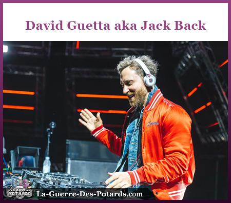 David Guetta aka Jack Back