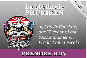 La Méthode SHURIKEN pour apprendre la production musicale