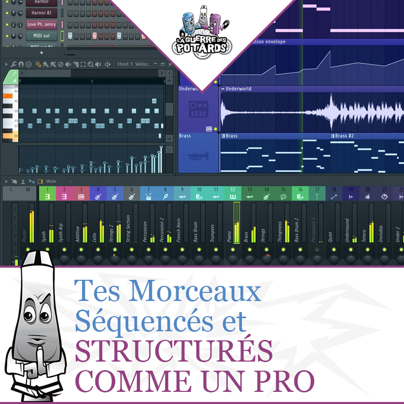Formation production musicale sequencer structure musicale