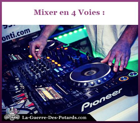 materiel dj table de mix dj