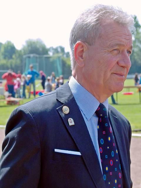 Helmut Gronau Vorsitzender der LA-Herten