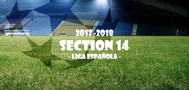 第14節 リーガ・エスパニョーラ(Liga Española)