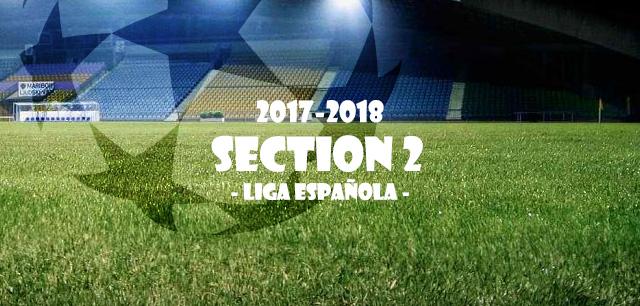 第2節 リーガ・エスパニョーラ(Liga Española)