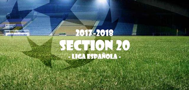 第20節 リーガ・エスパニョーラ(Liga Española)