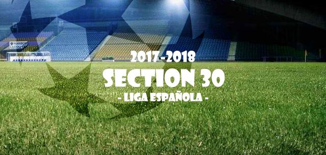 第30節 リーガ・エスパニョーラ(Liga Española)