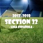 第32節 リーガ・エスパニョーラ(Liga Española)